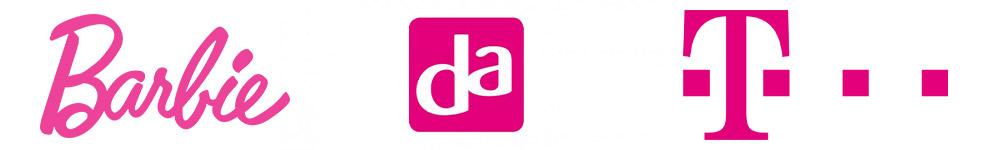Roze logo's - Barbie - DA - T-Mobile
